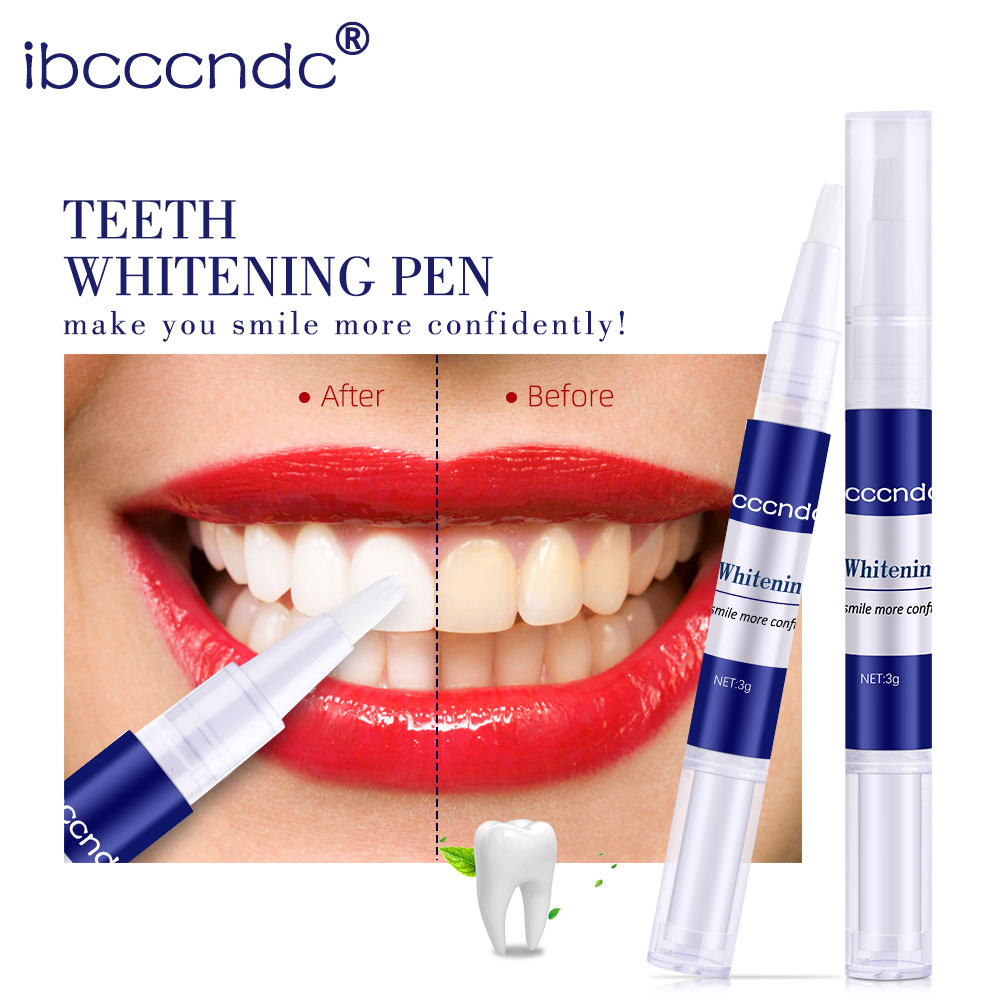1 Piece Portable Teeth Whitening Gel Pen Tooth Cleaning Bleaching BrushTeeth Bright White Pens Dental Tool Oral Care