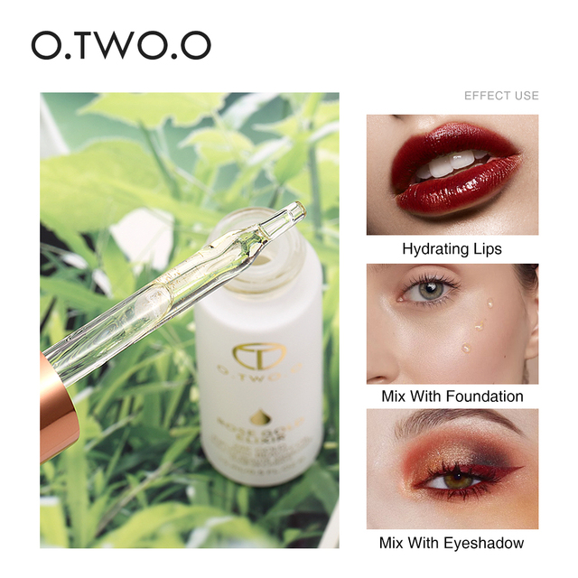O.TWO.O Face Primer Makeup Base Beauty Oil Makeup Essential Oil Before Foundation Winter Moisturizing Smooth Foundation Base 4