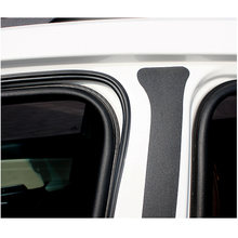 5 Meter Car Door Edge Seal Strip Trim B Type Sound Insulation Universal 2pcs 100% brand new and high quality(China)