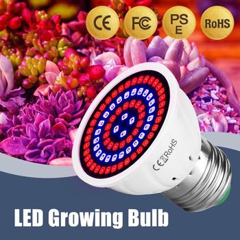 Lampa ledowa do hodowli roślin pełnozakresowe LED lampa do uprawy roślin oświetlenie wewnętrzne świetlówka do roślin żarówka dla roślin E27 E14 GU10 MR16 B22 220V tanie i dobre opinie XunShiNi ROHS Hydroponic Growth Light 4 8cm UV Lamp Plant E27 E14 Żarówki led 220 v Rosną światła 2 years