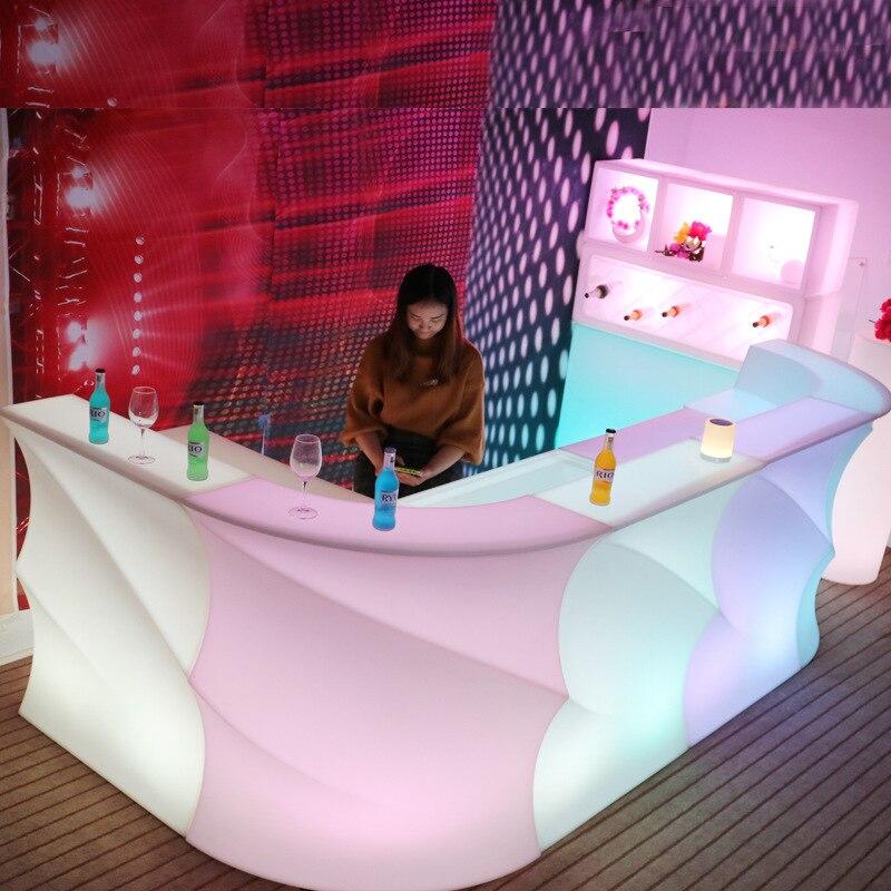 Новый светодиодный светильник, креативный, современный, Круглый, волнистый, цветной, дистанционный, для бара, KTV, вечерние, для бара, для укра