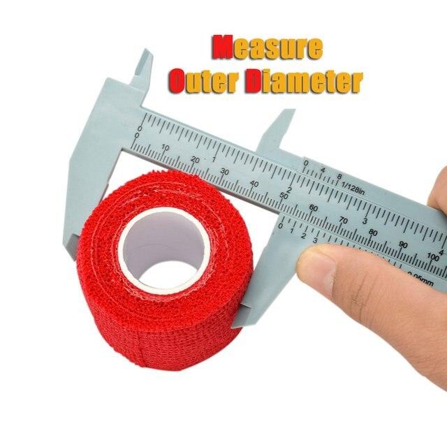 Plastic vernier caliper 150MM plastic caliper Vernier caliper Mini caliper Tattoo supplies 4