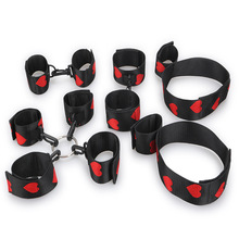 New 1 Set/pcs Sex Toys Handcuffs Legcuffs Tied Sexy BDSM Bondage Toys For Couples Sex Adult Game Erotic Toys For Women Men