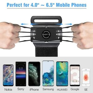 Image 5 - Running Sports Phone Case Wrist Arm Band For IPhone 11 Pro Max X XR 6 7 8 Plus Samsung Note 10 S9 P30 GYM Wristband For LG Pixel