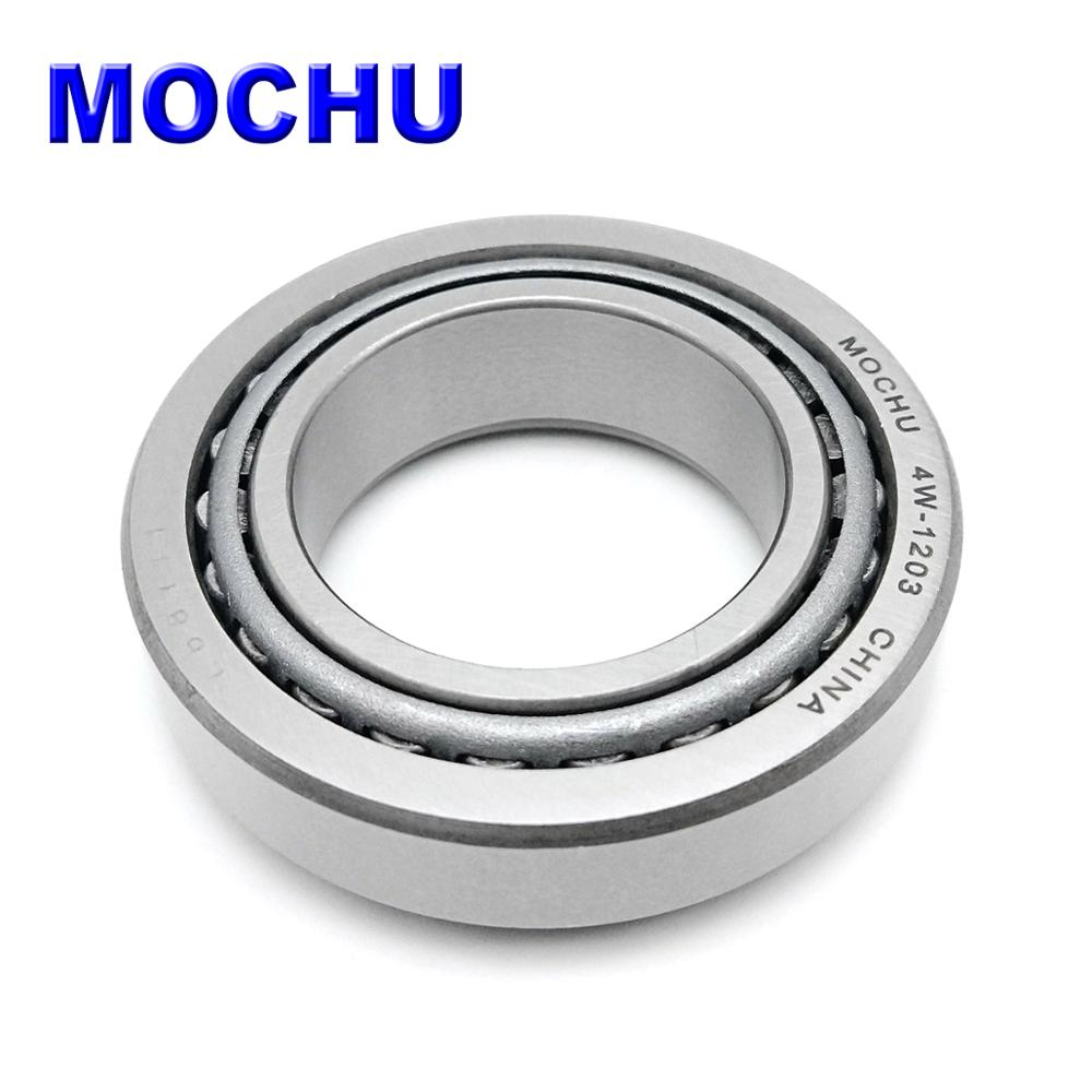 1PCS MOCHU 4W 1204 4W 1203 35X60X16.7 JL68149 JL68111 Tapered Roller Bearing Motorcycle Support Bearing Cone + Cup Single Row|Bearings| |  - title=