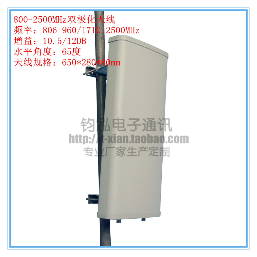 Factory Outlet 800 2700MHz Full Band Antenna Outdoor Directional Plate Sector Gain 12DB