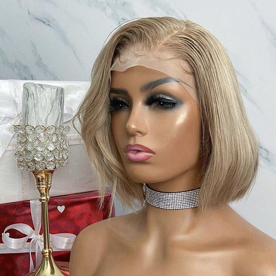 Perucas de cabelo humano da parte dianteira