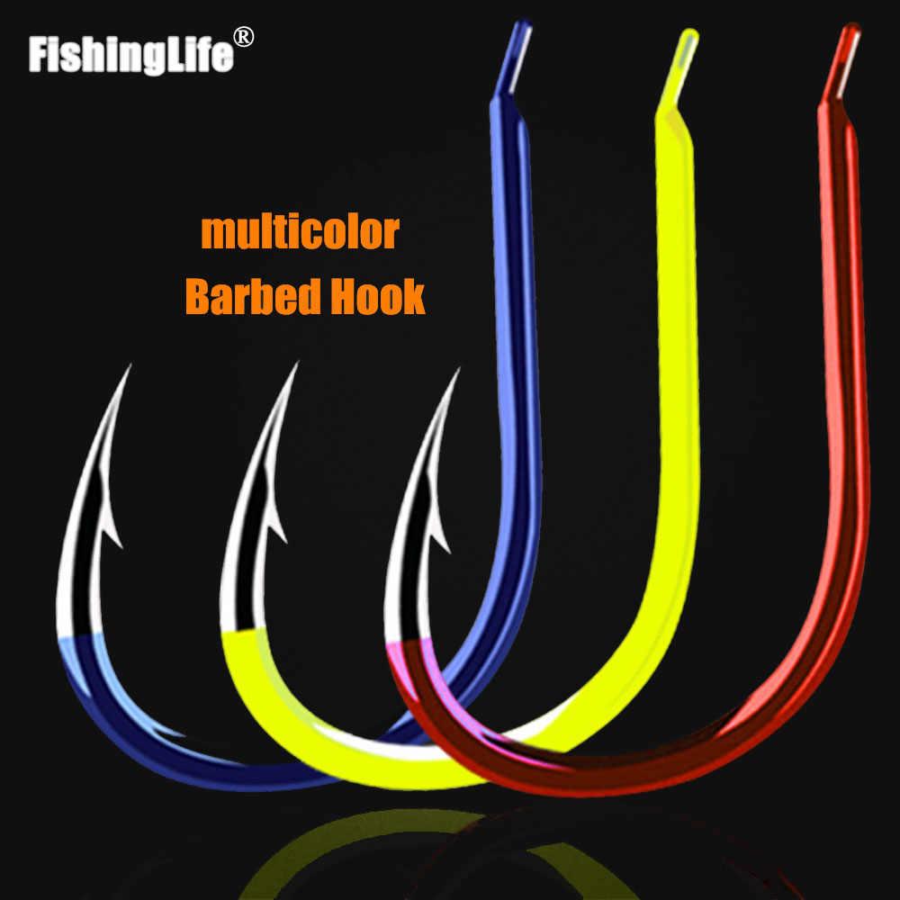 Móc câu cá 50 Cá Da Trơn Thép Carbon Cao Cấp Câu Cá Kẽm Gai Móc Biển Vàng Mustad Móc Cá Gamakatsu Cá Chép Phụ Kiện 3 #-15 #