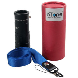 Image 2 - ETone 6x المكبر الزجاج الأرض تركز العدسة Lupe 4x5 8x10 كبير تنسيق كاميرا غرفة مظلمة أدوات