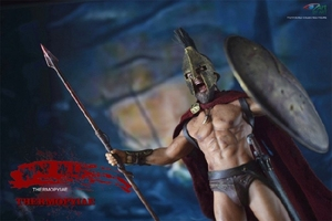Image 3 - BY ART BY G01 300 Warriors King of SPARTA with 2 Heads 1/12 Action FIGURE