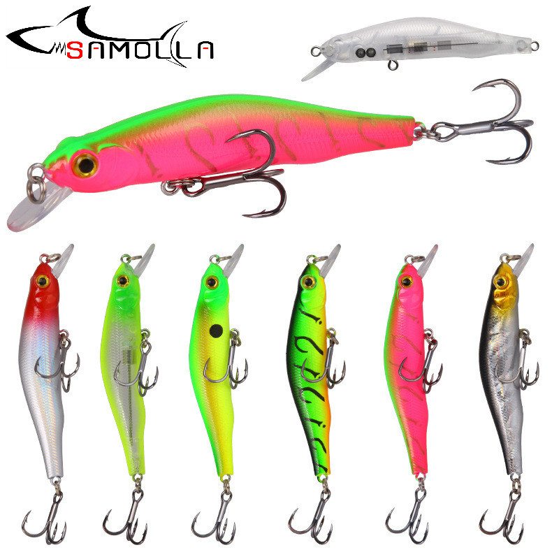 Mino Slow Sinking Fishing Lure Weights 8.8g Jerkbait Trolling Saltwater Lures Pesca Fake Fish Bait Trout Lure Articulos De Pesca