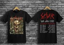 HOT SHIRT!! Populaire Slayer Final Tour 2019 Vijfde been noord-amerika Size S-5XL(China)