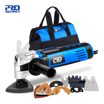 Multifunction Oscillating Tool Kit Multi-Tool Variable Speed Electric Trimmer Saw Power Tool Saw Accessories by PROSTORMER 1