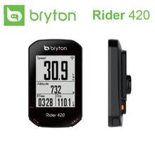 2020 חדש Bryton רוכב R420 אלחוטי GPS GNSS / ANT + Bluetooth מהירות מקצב לב שיעור כוח אופני אופניים רכיבה על אופניים מחשב