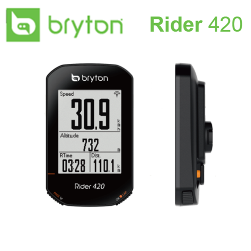 2020 NEW Bryton Rider R420 Wireless GPS GNSS / ANT+ Bluetooth Speed Cadence Heart Rate Power Bike Bicycle Cycling Computer