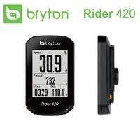 2020 nuevo Bryton Rider R420 GPS inalámbrico GNSS / ANT + Bluetooth velocidad cadencia Frecuencia Cardíaca potencia bicicleta ciclismo ordenador
