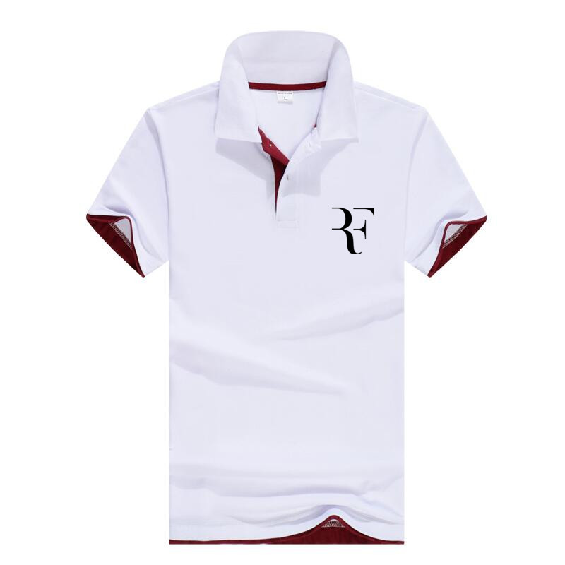 2018 New roger federer Arrival Hot Sale   Polo   Shirts Men Spring Summer 13 Colors Fashion Casual Short Sleeve