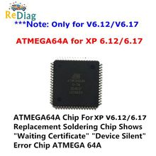 New original IC ATMEGA64A-AU Chip For XPROG V5.84/V5.86/V6.12/V6.17 Error