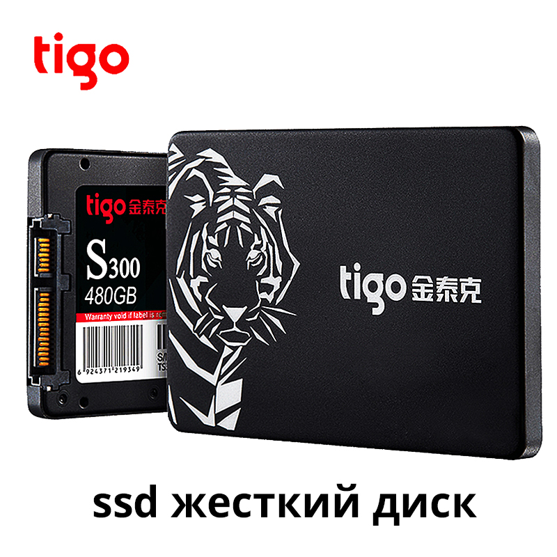 Tigo Ssd 480gb Sata 2.5 Inch Internal Solid State Drive Hard Drive For Desktop PC Laptop Warranty 3 Year