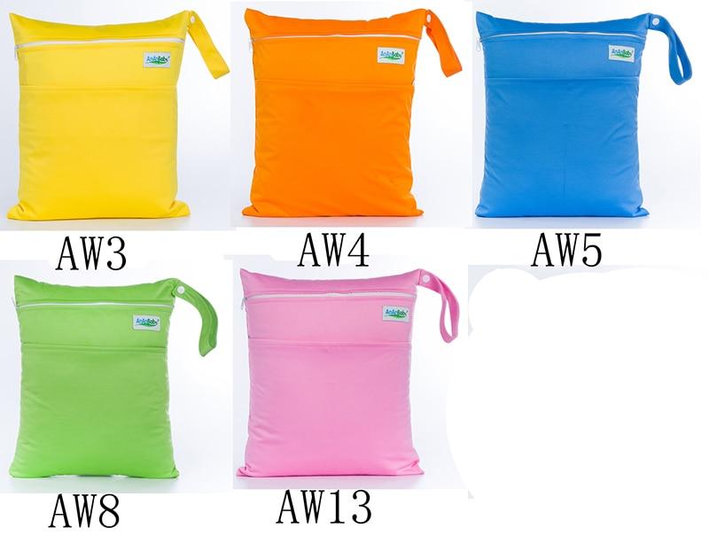 Plain color wet bags