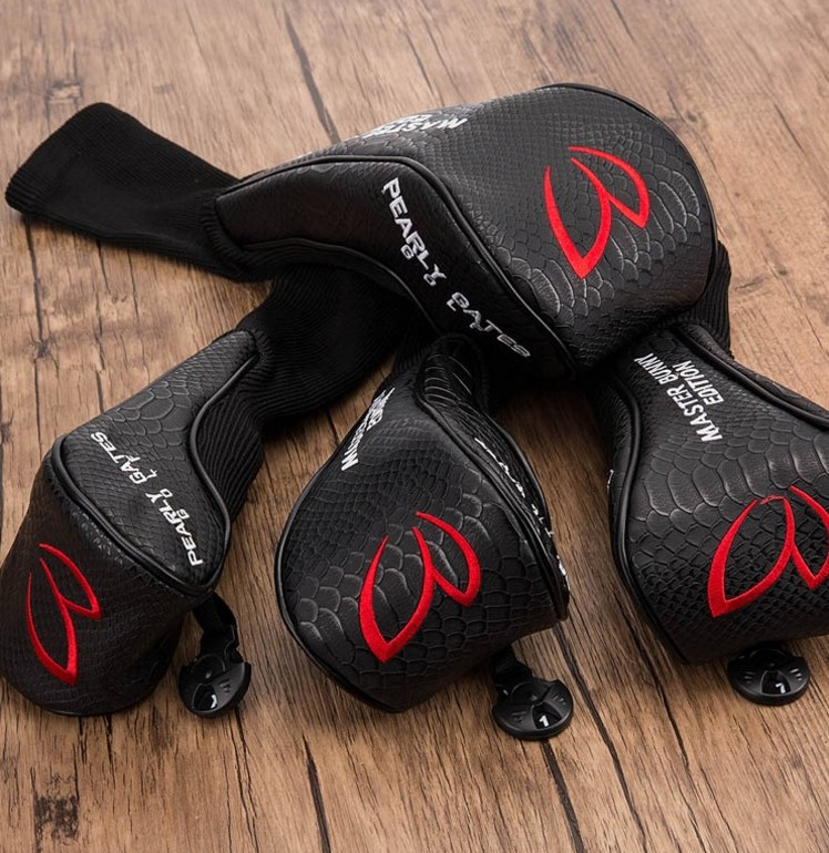 Golf UT Headcovers Hybrid Covers PU Leather 2 Colors Fariway Wood Cover Driver Cover