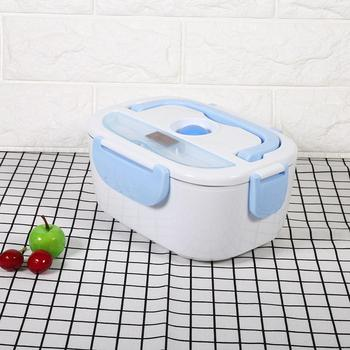Electric Heating Lunch Box 1.5L Home Portable Mini Rice Cooker Thermostat Food Warmer Steamer Container 110V 220V цена 2017