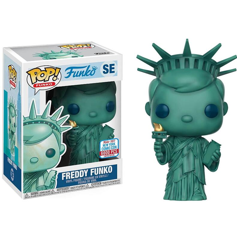 Funko Pop Anime Statue Of Liberty Collectible Model Toys New York City Vinyl Movie Action Figure Kids Toy