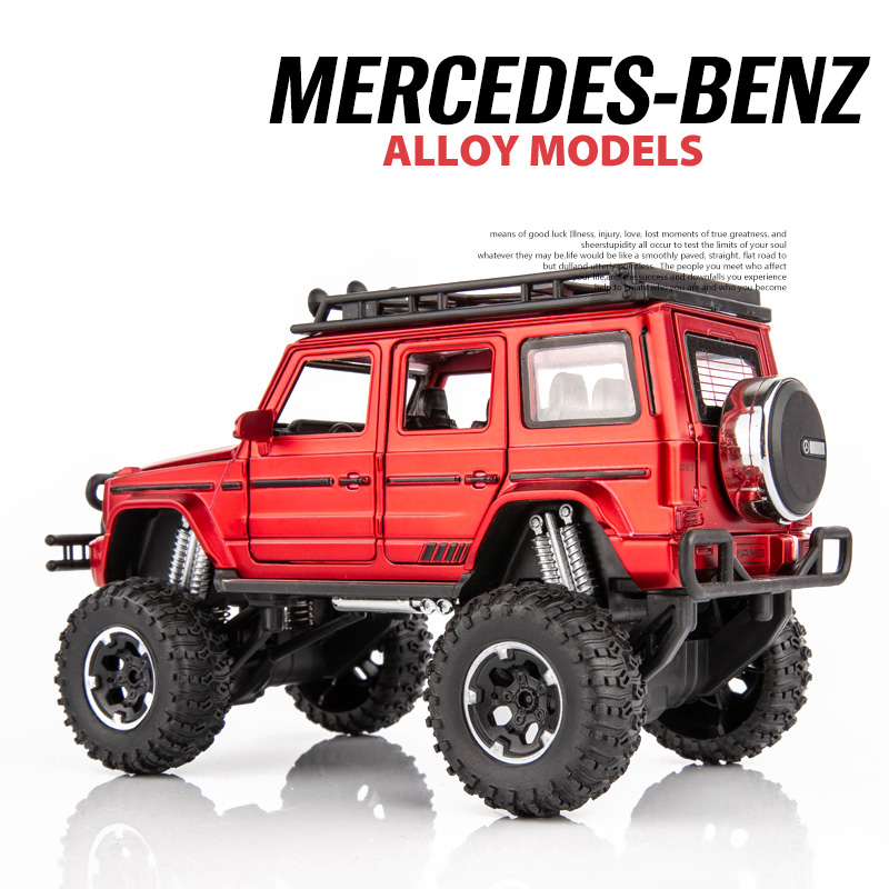 1:32 Benz G63 AMG Diecast Alloy Metal Car Model Diecasts & Toy Vehicles High Simitation Car Toys For Children Kids Gift