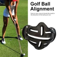 New Design Golf Ball Alignment Line Marker Marks Template Draw Linear Putt Positioning Mark Putting Clip