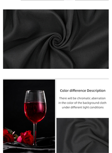 Image 5 - Fondo para estudio fotográfico tela textil de algodón muselina foto negro blanco verde azul rojo