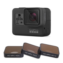 FOTOFLY Hero5/6/7 Camera Filter CPL/UV/ND 4 8 16/Red/Magenta/Yellow Filters For GoPro Hero 5 6 7 Black Action Camera Accessory