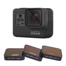 FOTOFLY Hero5/6/7 filtr kamery CPL/UV/ND 4 8 16/czerwony/Magenta/żółty filtry do GoPro Hero 5 6 7 czarny akcesoria do kamery akcji