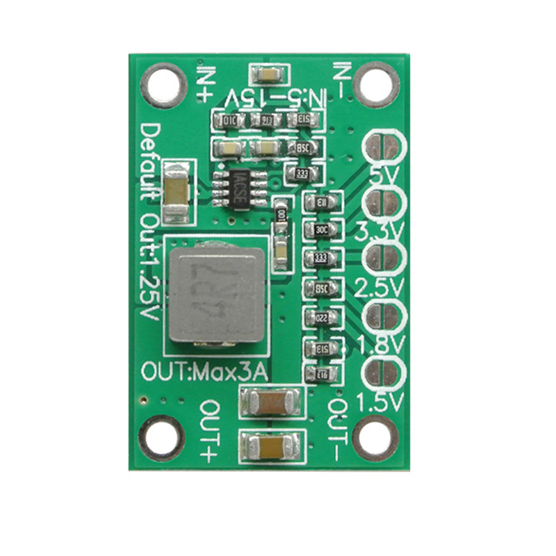 10Pcs /Lot CA-1235 CA1235 Adjustable Buck Power Module 1.25V 1.5 1.8 2.5 3.3 5V Output 5-16V Input
