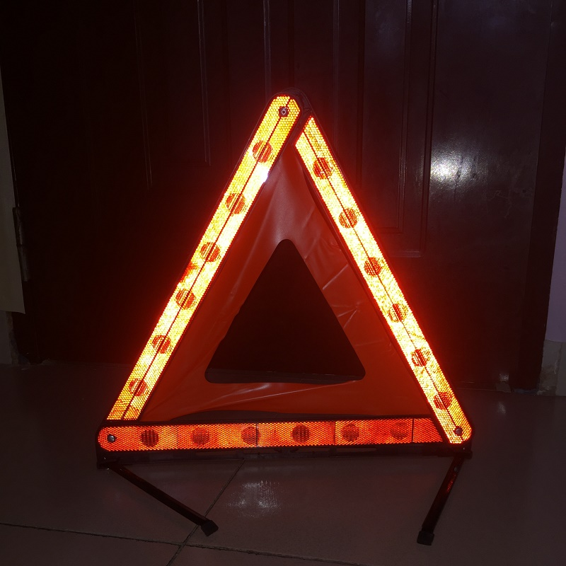 Trouble Parking Foldable Warning Triangle Safety Emergency Reflective Stop Hazard Red Sign Road Traffic Vehicle Triangle Tripod
