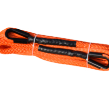 Free Shipping 12mm*15m Orange Winch Rope Extension,1/2