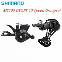 SHIMANO SLX M7000 DEORE M5100 11 Speed MTB bicycle bike Speed Trigger Shifter + Rear derailleur GS SGS