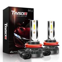 2020 txvso8 mini h11 светодиодные лампы 6000k Автомобильные
