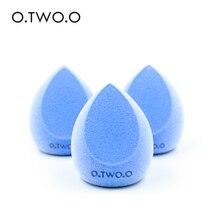 O.TW O.Oไมโครไฟเบอร์Fluffพื้นผิวเครื่องสำอางค์พัฟกำมะหยี่แต่งหน้าฟองน้ำผงคอนซีลเลอร์ครีมMake Up Tool