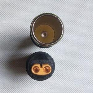 Image 5 - DC 5,5mm x 2,1mm Männlichen zu Auto Zigarette Leichter Steckdose Mini XT60 CLA EC5 Buchse Adapter für auto starthilfe dvr gps