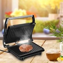 Домашний гриль машина двухсторонний стейк для бургеров из мяса
