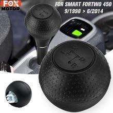 De palanca de cambio de engranaje de transmisión palanca de balonmano negro para Mercedes Smart Fortwo, 450, 1998, 1999, 2000, 2001-2014