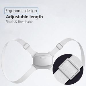 Image 4 - Умный Корректор осанки, Электрический тренажер для осанки, умный поддерживающий пояс, коррекция осанки