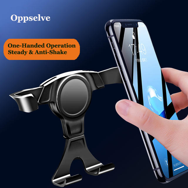 Universal Car-Phone Holder For Redmi Note 8 Huawei Air Vent Mount Car Holders Stand Mobile Supports For iPhone 11 Pro X Bracket