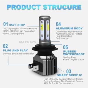Image 4 - 2x H4 H7 H8 H11 9005 HB3 9006 HB4 H16 H1 881 880 3570 чип Canbus внешняя Светодиодная лампа для автомобиля светодиодный противотуманный светильник для вождения