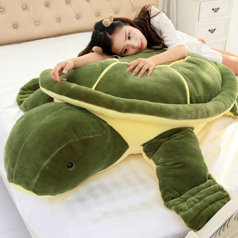 [Drôle] grande taille 85/140cm pleine rempli tortue de mer géante en peluche peluche poupée jouet animal tortue tenir oreiller enfant enfants cadeau