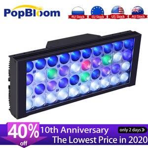 PopBloom светильник для Аквариума Контроллер для аквариума светодиодный светильник ing лампа для аквариума светодиодный светильник для аквариу...