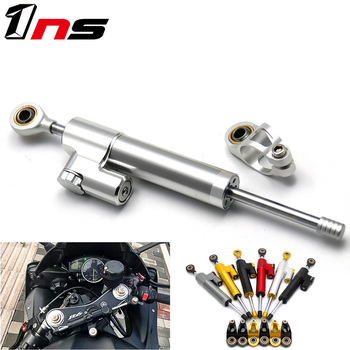 For Yamaha YZF R1 YZF R 1 1998 - 2001 YZF R6 2006-2017  YZF R1 2009-2012 Universal Motorcycle Steering Dampers Stabilizer for yamaha yzf r6 2008 2009 2010 11 12 13 14 complete all silver abs fairings 3mm thick injection plastic kits