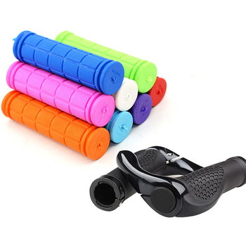 Rubber Bike Handlebar Grips Cover BMX MTB Mountain Bicycle Handles Anti-skid Bicycles Bar Grips Fixed Gear Bicycle Parts