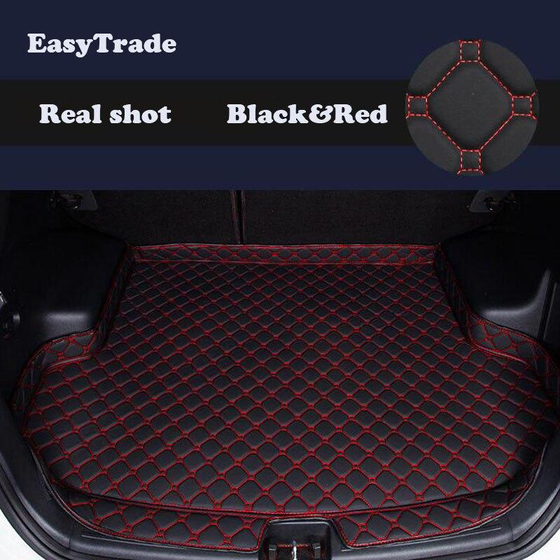 Car trunk mats Liner Carpet Guard Protector Goods For Hyundai Creta Ix25 2015 2016 2017 2018 2019 Accessories