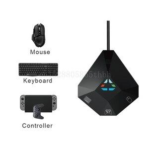 Image 2 - لعبة لوحة المفاتيح ماوس محول محول ل التبديل/PS4/PS3/X BOX واحد/360 وحدة التحكم